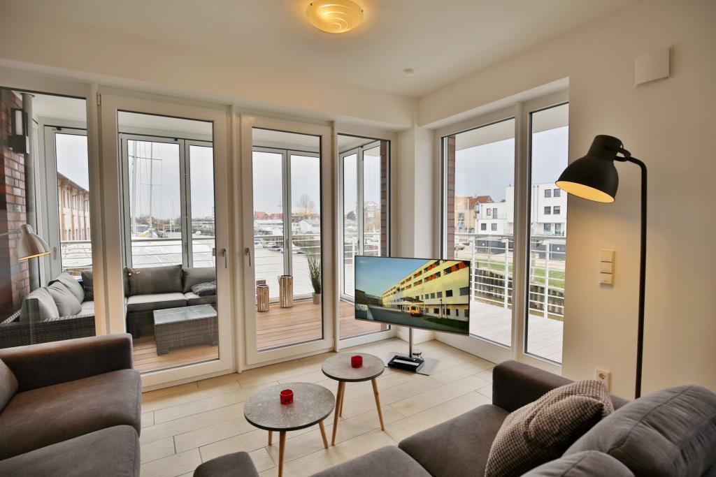 Ferienwohnung Haus Marina Km26 Mit Seeblick Balkon Und